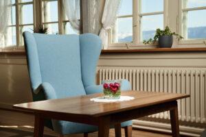 Grandfather's favourite armchair makes a comeback